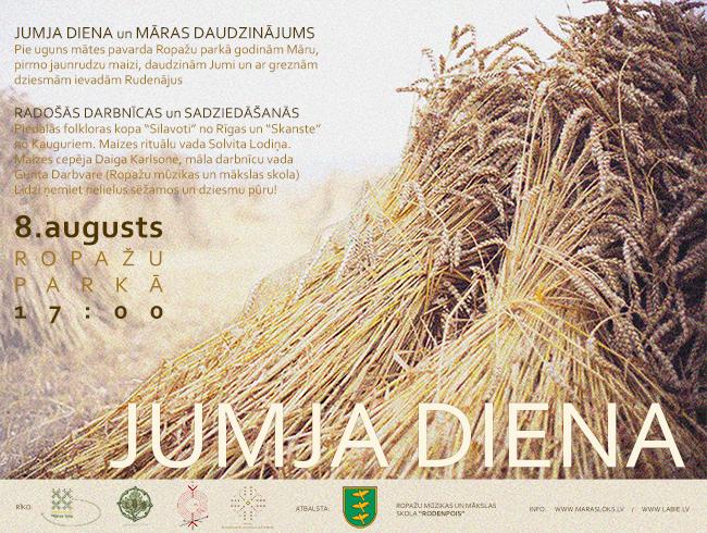 Teksts Jumja/Māras diena_8.08.2014